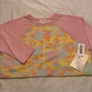 """Lularoe girls """"Sloan"""" top.  New with tags size 14"""